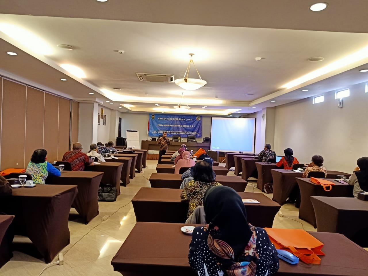 BIMTEK PELATIHAN PENYUSUNAN SISTEM PENGENDALIAN INTERNAL (SPI) TGL 22 SEPTEMBER - 24 SEPTEMBER 2020 DI HOTEL GRAGE RAMAYANA
